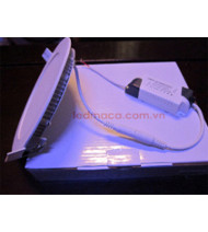 Đèn âm trần mỏng 18w Điện áp AC - 220V KT: 225mm X 12mm Lỗ khoét Fi 20.5cm Bảo hành 2 năm