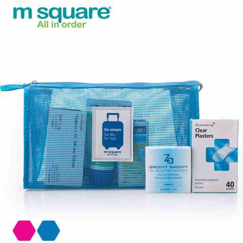 Túi lưới đựng mỹ phẩm M.square
