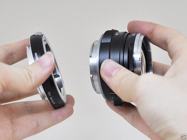 Leica M mount - Fujifilm X