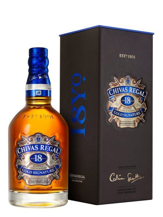 CHIVAS 18 REGAL