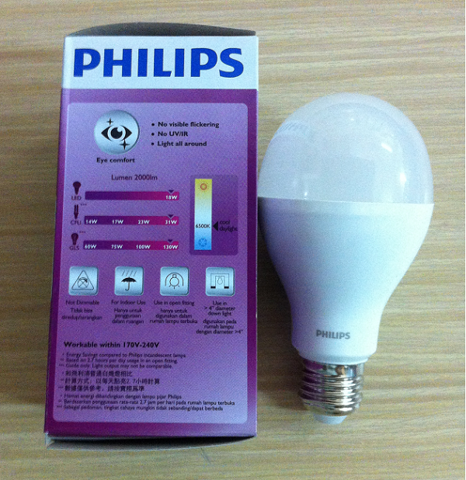 Bóng Led bulb 18W Philips