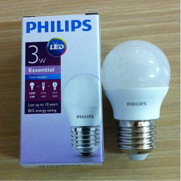 Bóng Led bulb 3W Philips