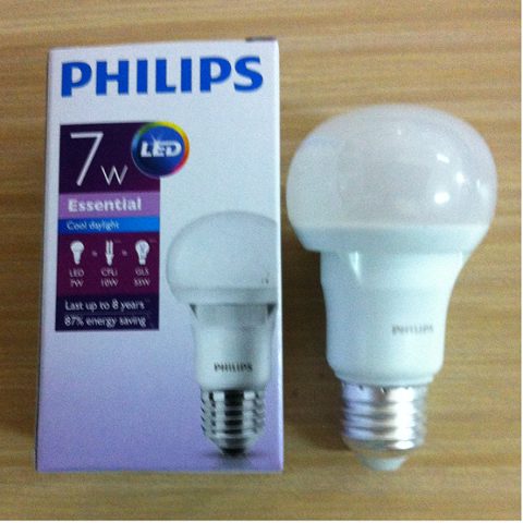Bóng Led bulb 7W Philips