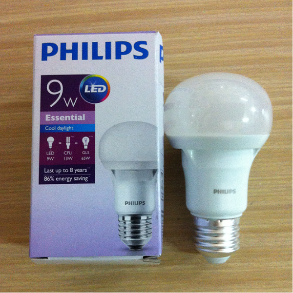 Bóng Led bulb 9W Philips