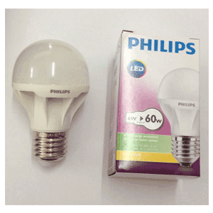 Bóng Led bulb 6W Philips