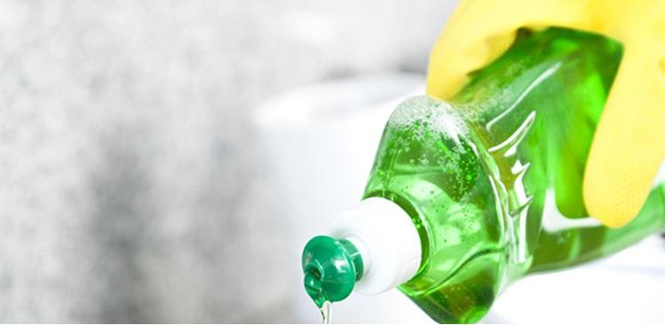 X-Clean sử dụng dung dịch nước rửa chén chiết xuất từ chanh