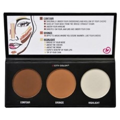 Phấn Highlight 3 ô City Color Contour Effects